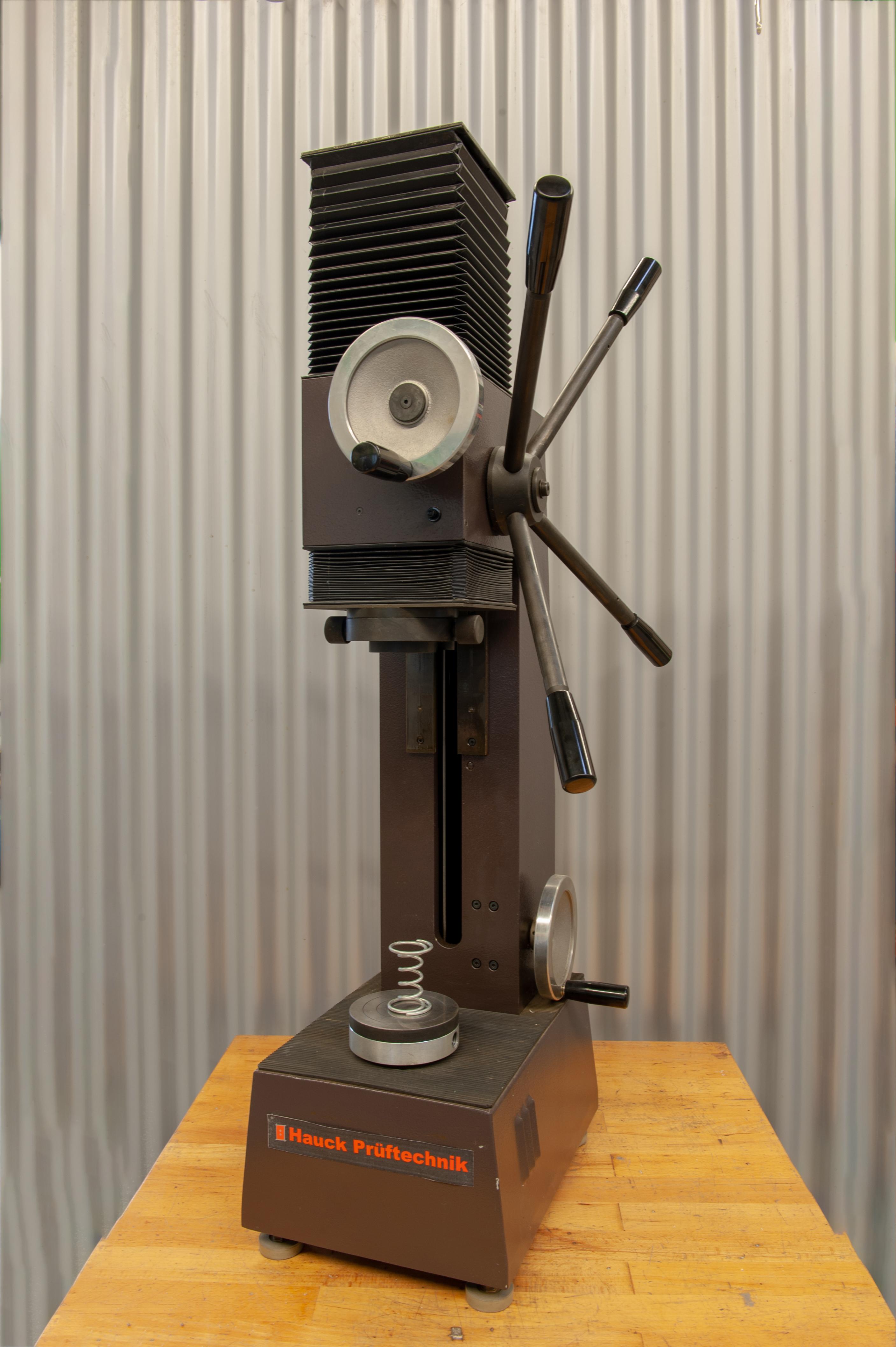 Federprüfmaschine Wolpert SF 202